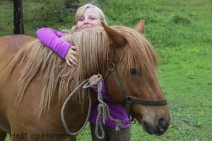 Trygg med hest